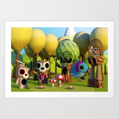 The TreeBorn Gang Art Print