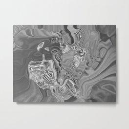 Multiply Metal Print