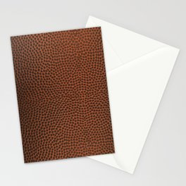 Football / Basketball Leather Texture Skin Stationery Cards