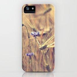 Corn flower iPhone Case