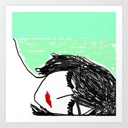 Watch You Sleep Art Print