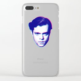 welles Clear iPhone Case
