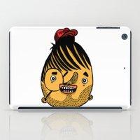 ferrari iPad Cases featuring Freddie Ferrari by crapAdoodle