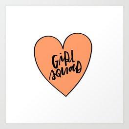 Girl Squad Art Print