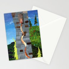 Let her hair down Stationery Cards