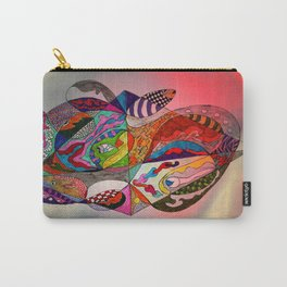 fantastic geometrical forms -12- Carry-All Pouch