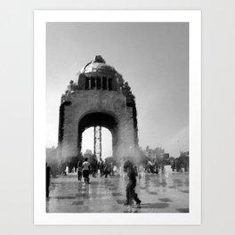 bw monument Art Print
