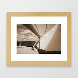 Close Reach Framed Art Print