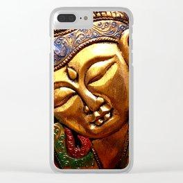 Deity Clear iPhone Case
