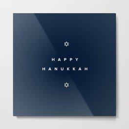 Happy Hanukkah Metal Print