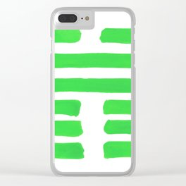 Coming Together - I Ching - Hexagram 45 Clear iPhone Case