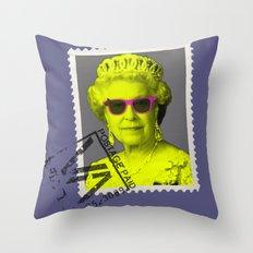 Pop Queen Throw Pillow