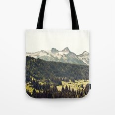 Epic Drive through the Mountains Tote Bag