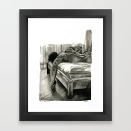 but can you? Framed Art Print