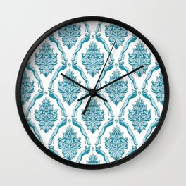 Cock Baroque Wall Clock