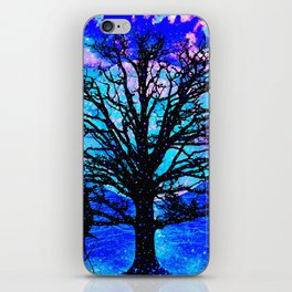TREES AND STARS iPhone Skin