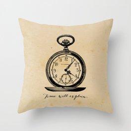 Jane Austen Persuasion Throw Pillow
