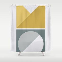 Geometric Form No.4 Shower Curtain