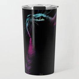 Colorful Cat Travel Mug