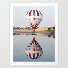 Reflective Balloon Art Print