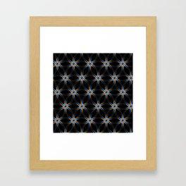 Pattern Kira Framed Art Print