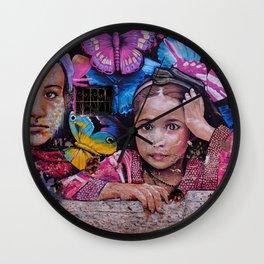 Child of Innocence - Graffiti Wall Clock