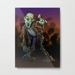 ZOMBIE! Metal Print
