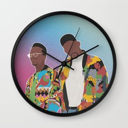 DJ JAZZY JEFF & THE FRESH PRINCE Wall Clock