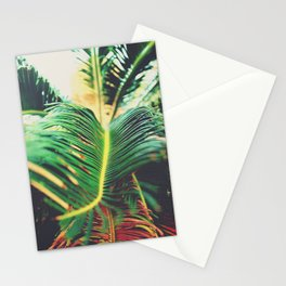 Palm Leaf Parallax Stationery Cards