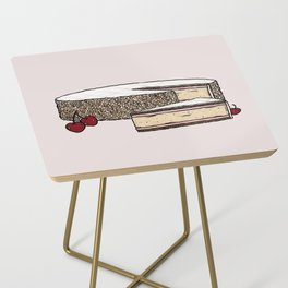 Z is for Zuger Kirschtorte Side Table