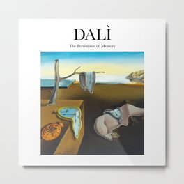 Dalì - The Persistence of Memory Metal Print
