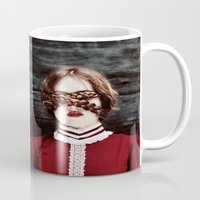 third eye Mugs featuring Third Eye by elle moss