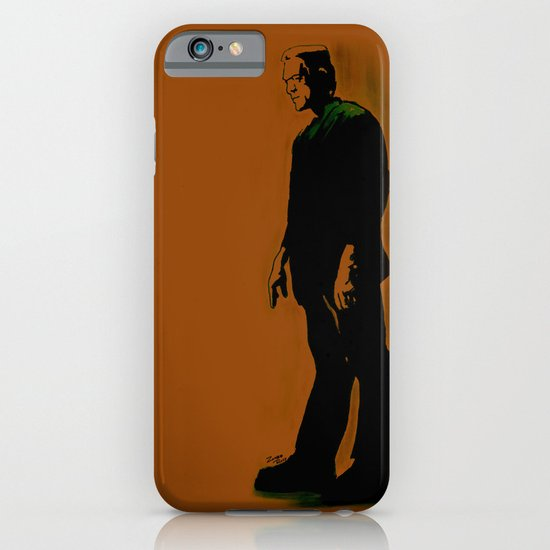The Monster Is Loose! iPhone & iPod Case