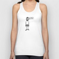 nerd Tank Tops featuring Nerd by Addison Karl