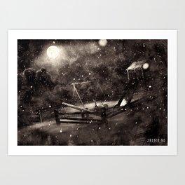 Poster - Playground Art Print
