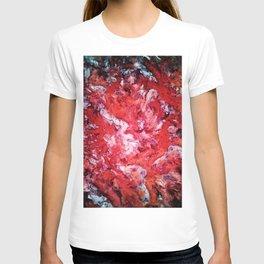 Red navigation light T-shirt