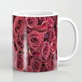 Flower Market 3 - Red Roses Coffee Mug
