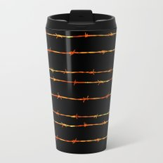 Barbed wire Metal Travel Mug