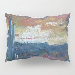 Stormy Evening Over Arizona Pillow Sham