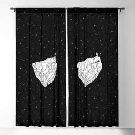 Outer Space Crystal Blackout Curtain