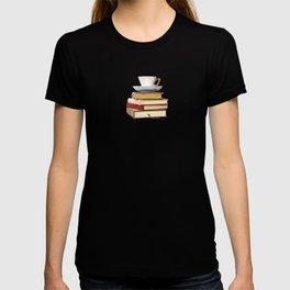 Tea and book love T-shirt