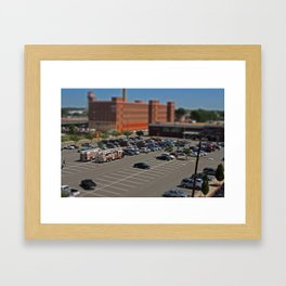 Richmond - Tilt Shift 1 Framed Art Print