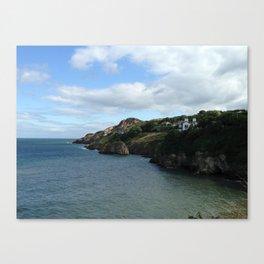 The Coast of Howth, Ireland Canvas Print