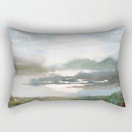 Close to the Edge Rectangular Pillow