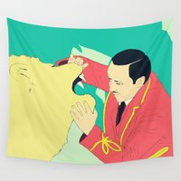 circus Wall Tapestries featuring Circus by ministryofpixel