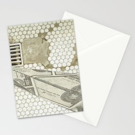 Money Down the Drain Stationery Cards