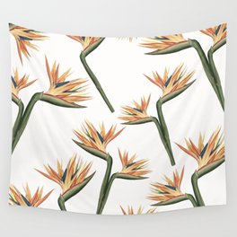 Birds of Paradise Flowers 2 Wall Tapestry