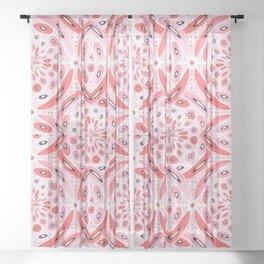 Geometric harmony Sheer Curtain