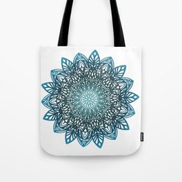 Blue mandala Tote Bag