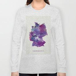 Germany Map Long Sleeve T-shirt